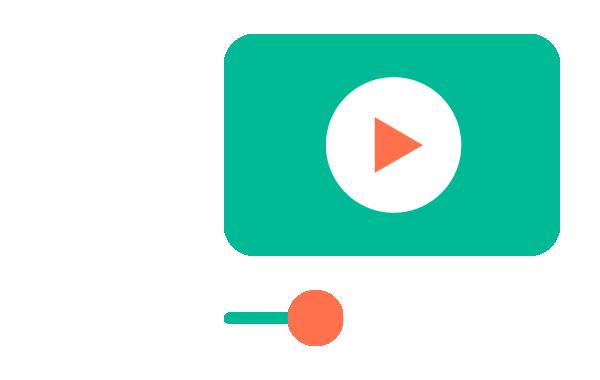 illustration d'un lecteur vidéo